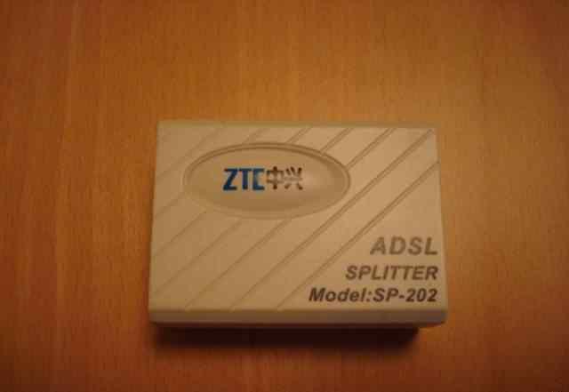 Adsl сплиттер ZTE sp-202