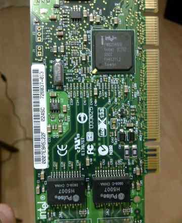 Сетевая карта Intel PRO/1000 MT Dual Port Server
