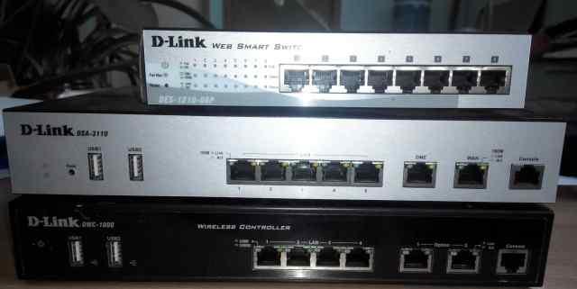 Сервисный Hot spot шлюз D-Link DSA-3110