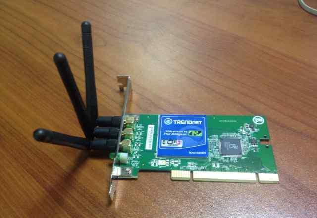 Беспроводной Wi-Fi адаптер Trendnet TEW-623PI