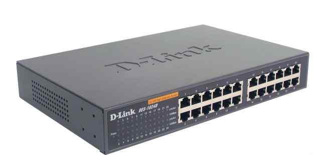 D-link DES-1024D 24 порта
