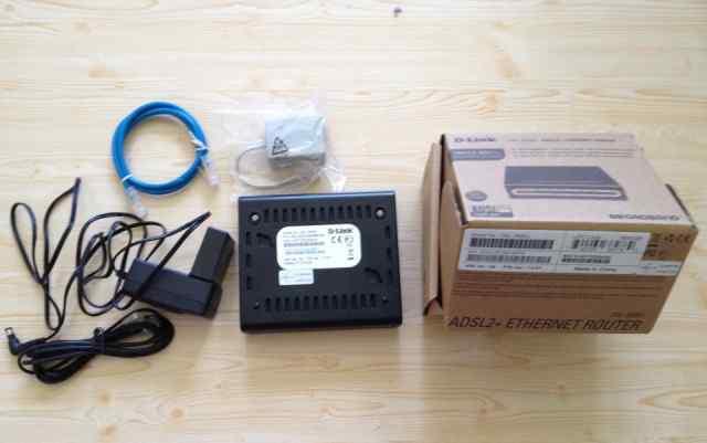 Adsl-модем (роутер), D-link DSL-2500U/BA/D4A, adsl