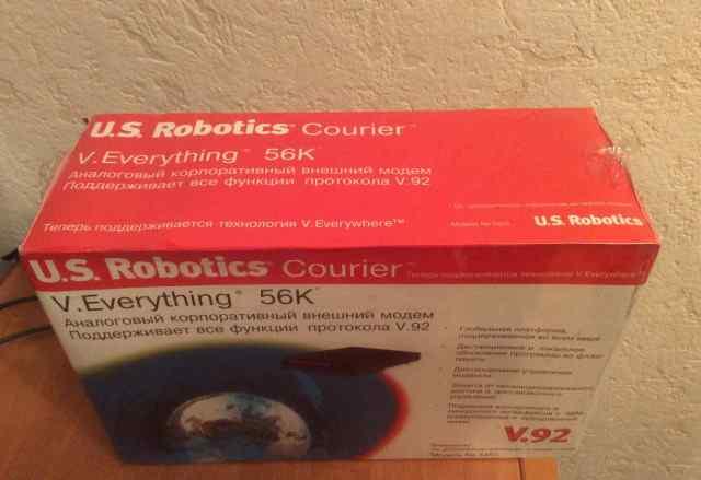 Модем U. S. Robotics Courier новый