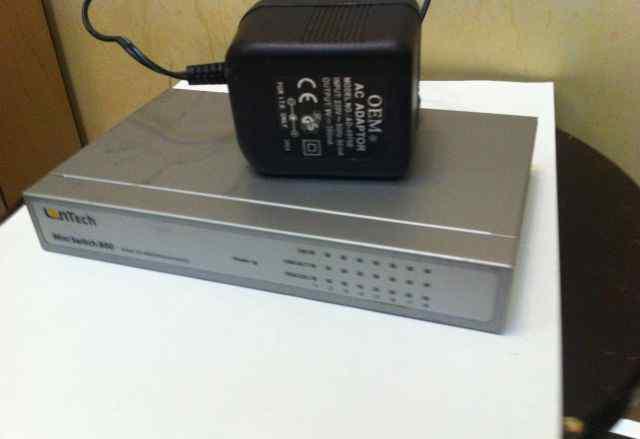 Lantech 8 port Miniswitch 800 8 портов
