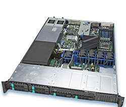Сервер Intel SR 1550 AL SAS 1U
