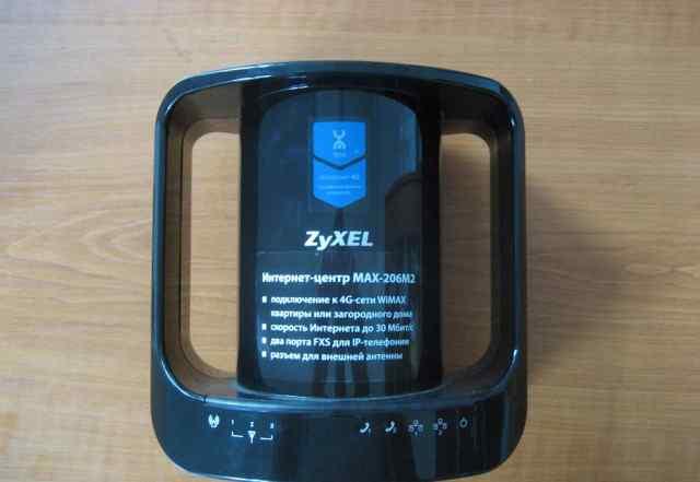 zyxel Интернет-центр MAX-206M2 (роутер)