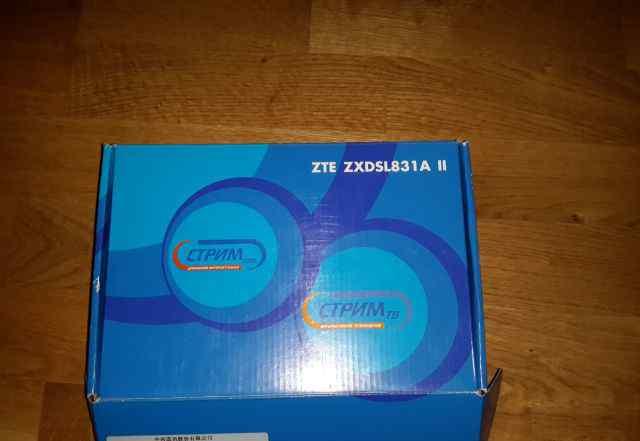 Модем стрим ZTE zxdsl 831A II