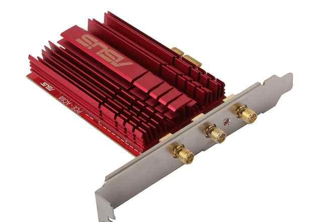 WiFi адаптер высокоскоростной PCI-E asus PCE-AC68