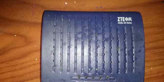 Модем ZTE zxdsl 831+ роутер D- link