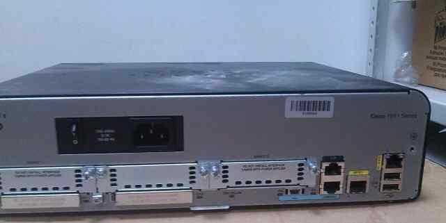 Маршрутизатор Cisco 1941 + vwic2-1MFT-T1/E1