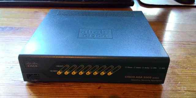 Cisco ASA 5505 (межсетевой экран) б/у