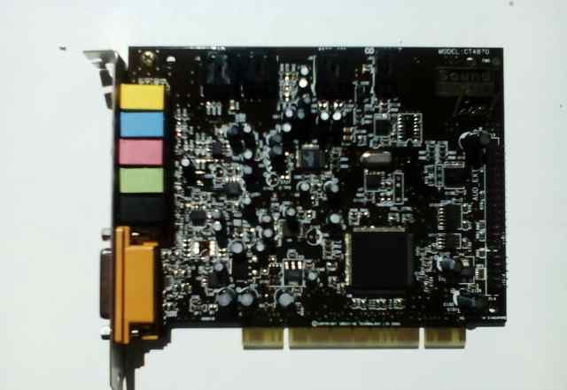 Creative Sound Blaster Live. CT4870