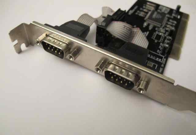 Плата интрерфейса COM RS232 PCI