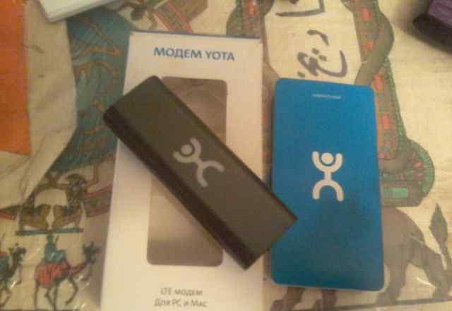 Yota LTE модем