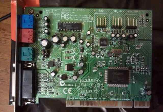 Звуковая карта Creative CT4810 PCI