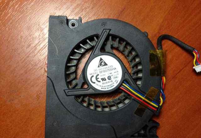 Вентилятор от ноутбука asus X50Z