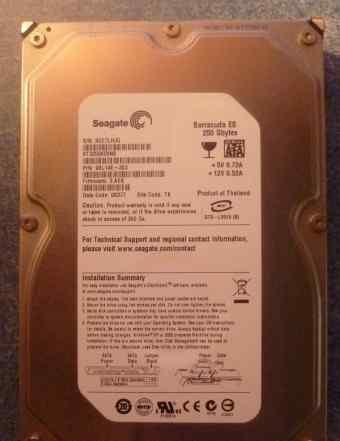 250 GB HDD Barracuda ES