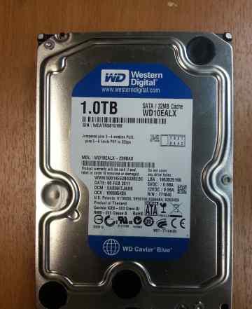 Жесткий диск для компьютера 1TB