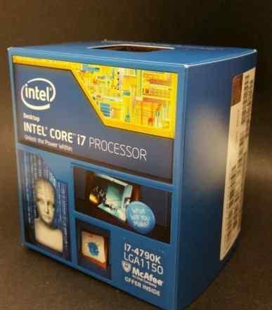 Intel Core i7 4790K все новенькие, много
