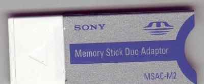 Переходники Memory Stick DUO Adaptor