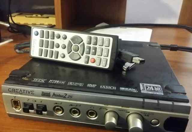 Внешний блок для Creative Audigy 2 ZS Platinum Pro