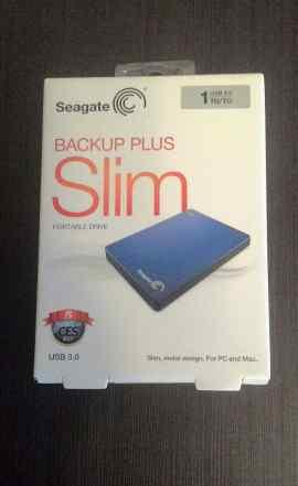 Внешний жесткий диск Seagate Backup Plus Slim