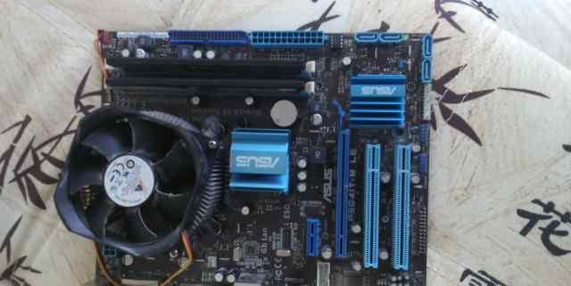материнку, процессор и оперативку