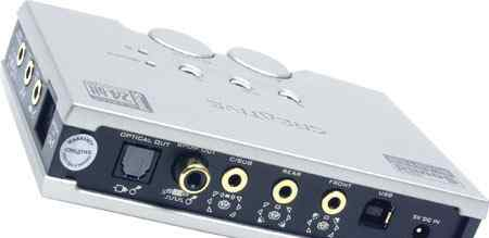 USB карта Creative Sound Blaster Audigy 2 NX б/у