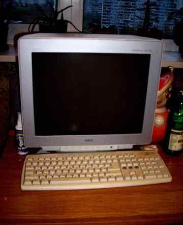Монитор+ процессор все в рабочем состоянии