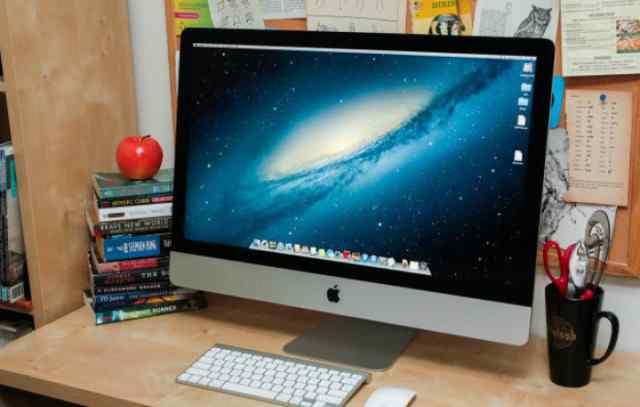 iMac 27 (конец 2012 года) в отличном состоя