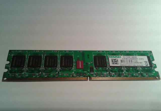 1Gb Kingmax DDR2-667 klcd48F-A8KB5