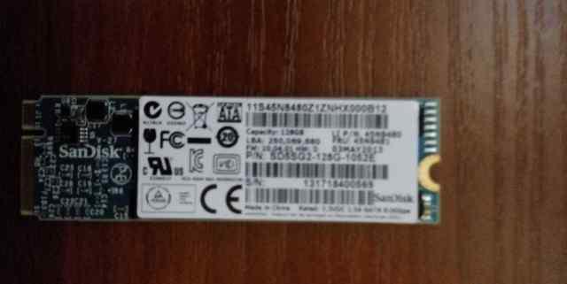 Твердотельный накопитель 128Gb SSD SanDisk X110