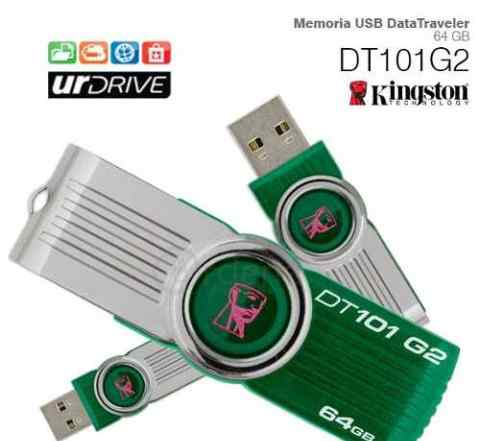 Флешка Kingston DataTraveler 101 G2 64 GB