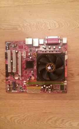 Мат. плата MSI K9N6PGM2-V2+ процессор AMD Phenom