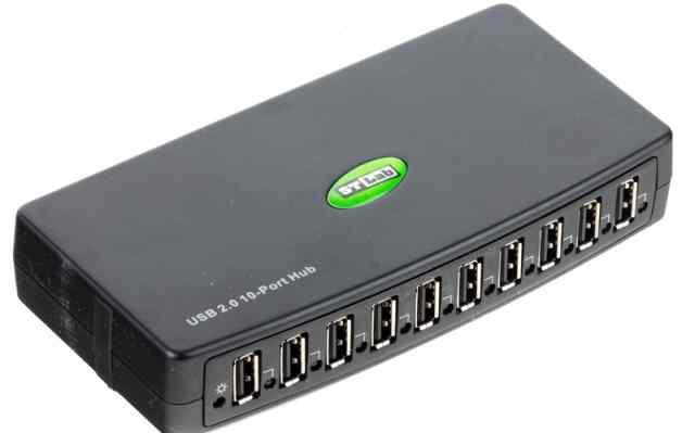 USB-хаб STLab U-500 USB2.0 Hub 10-Port