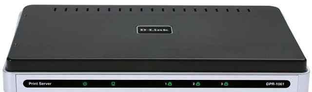 Принт-сервер D-Link DPR-1061