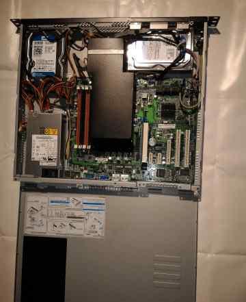 Сервер asus RS100-X7 E3-1220 8Gb 2 x 320 Gb Raid1
