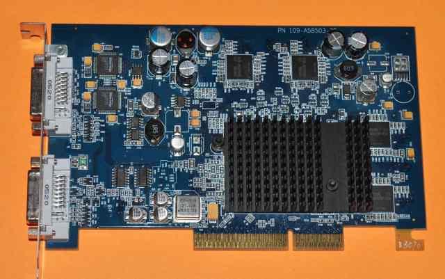 ATI Radeon 9650 256MB видео карта для PowerMac G5