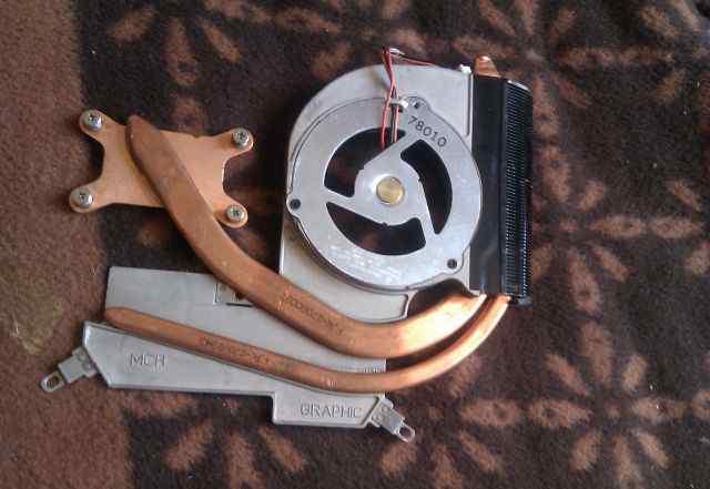 Система охлаждения для samsung R70 (Toshiba BA81-0