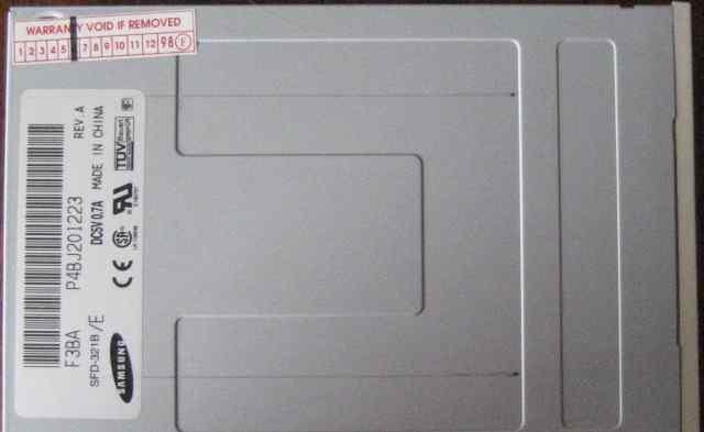 Флоппи дисковод 3.5 внутренний Samsung