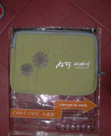 Чехол для нетбука 11 дюймов, оливковый