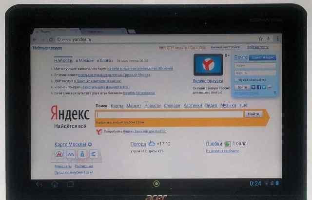 Acer iconia 10.1 TAB A511 3G 32 W планшет и чехол