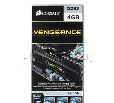 Corsair Vengeance dimm DDR3, 12гб (3x4гб)