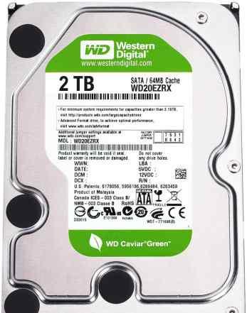 Жесткий диск 2000гб Western Digital