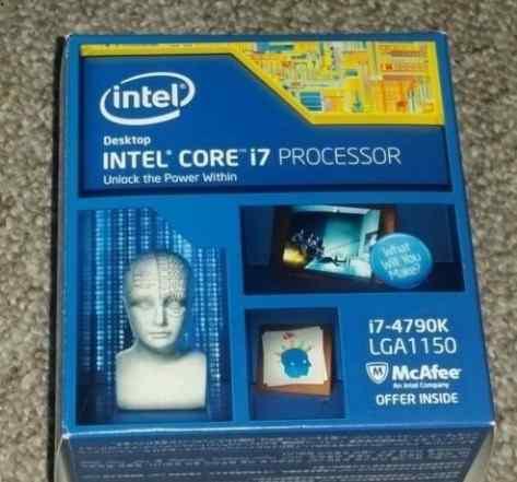 Intel Core i7 4790K новые, оригинальные