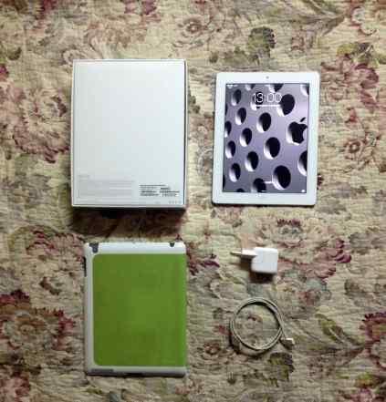 Новый. Apple iPad 3 64Gb Wi-Fi + Cellular, белый