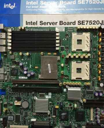 Серверная мат. плата Intel SE7520JR2 б. у