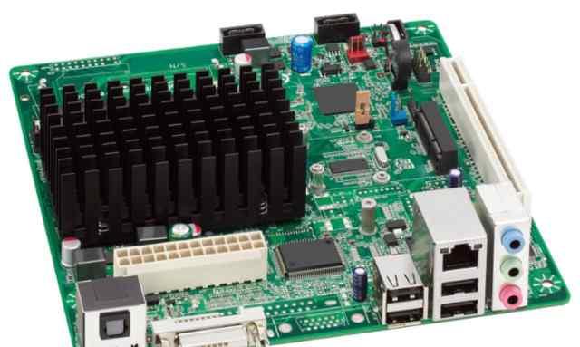 Материнская Плата Intel D2700DC + Память 2 Gb