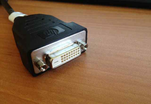 Адаптер HP Display Port to DVI