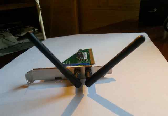 Сетевой адаптер Wi-Fi trendnet TEW-643PI